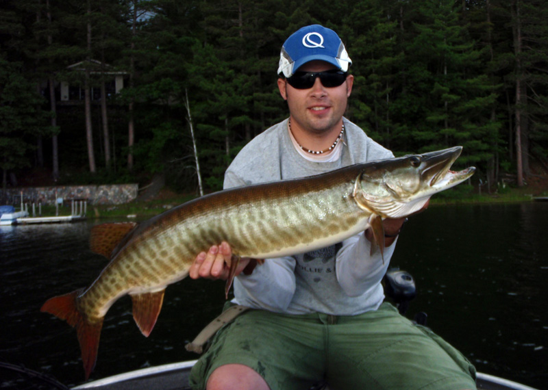 2013 members gallery northwoods muskies inc chapter for Minocqua fishing report
